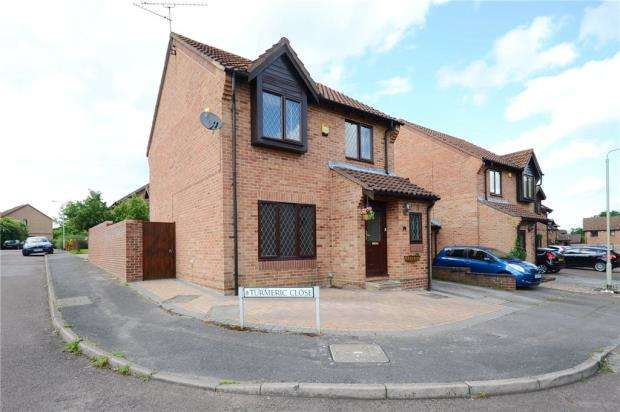 3 Bedrooms Link Detached House for sale in Turmeric Close, Earley, Reading