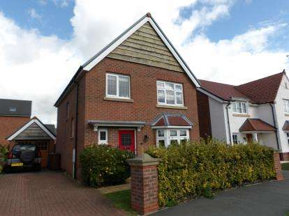 3 Bedrooms Detached House for sale in Argyll Avenue, Buckshaw Village, Chorley, Lancashire, PR7