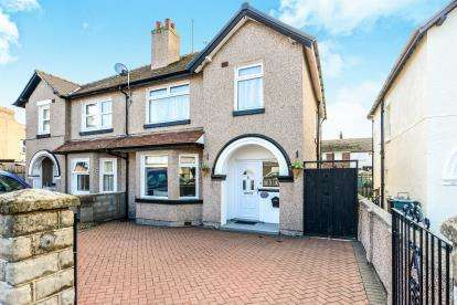 3 Bedrooms Semi Detached House for sale in Mowbray Road, Llandudno, Conwy, North Wales, LL30