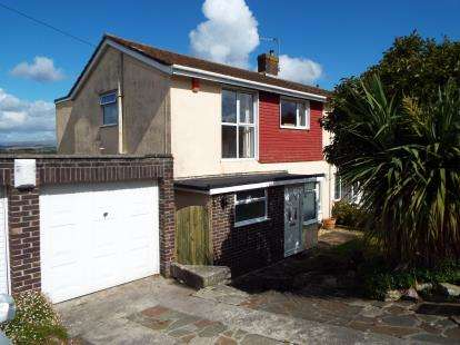 3 Bedrooms Semi Detached House for sale in Elburton, Devon