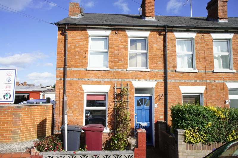 2 Bedrooms End Of Terrace House for sale in Mill Road, Caversham