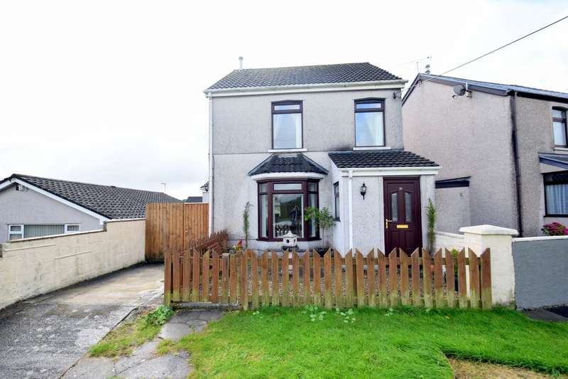3 Bedrooms Detached House for sale in 25 Heol Tyn Y Garn, Pen-Y-Fai, Bridgend, Bridgend County Borough, CF31 4NZ.