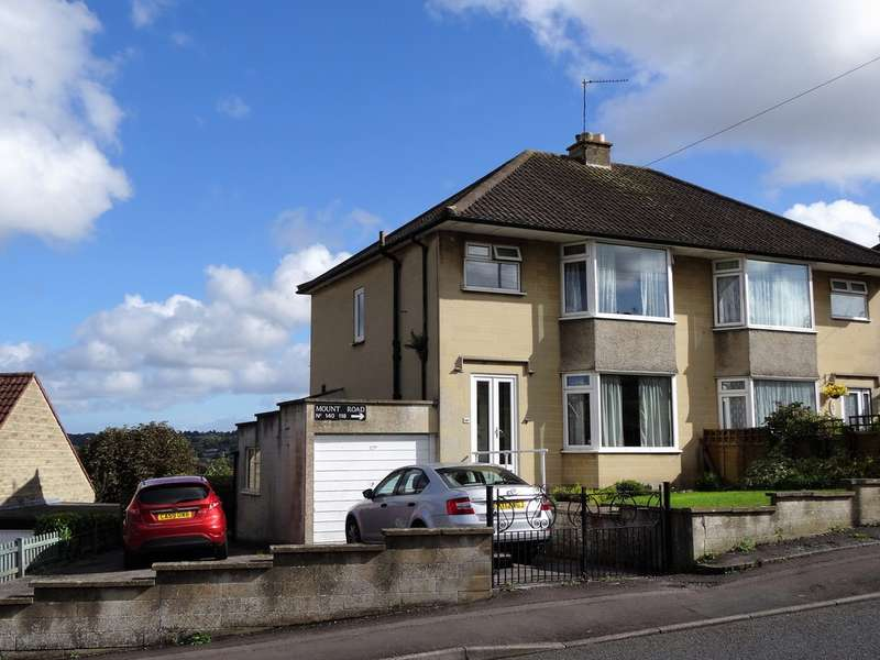 3 Bedrooms Semi Detached House for sale in Mount Road, Southdown, Bath