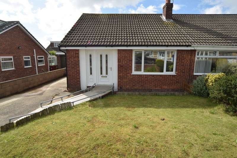 2 Bedrooms Semi Detached Bungalow for sale in Whinlatter Drive, Barrow in Furness, Cumbria, LA14 4NP