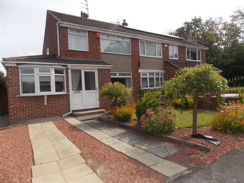3 Bedrooms Semi Detached House for sale in Shadwell Close, Middlesbrough, TS6 0SR