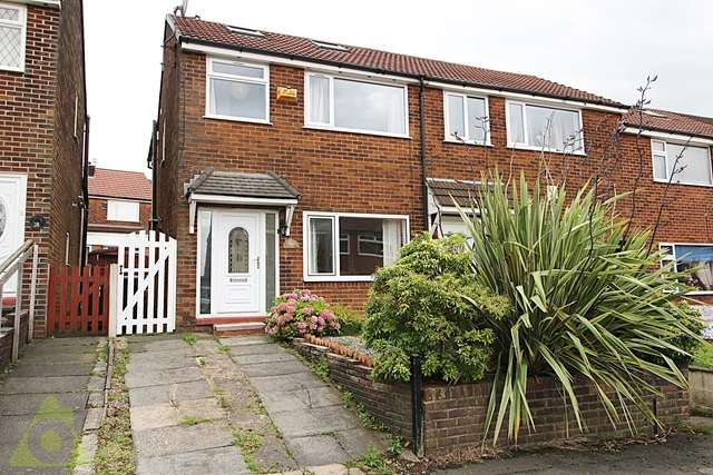 3 Bedrooms End Of Terrace House for sale in Lower House Walk, Bromley Cross, Bolton, BL7 9JS