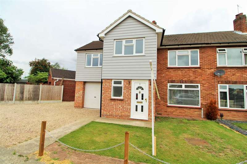 4 Bedrooms Semi Detached House for sale in Gainsborough Road, Prettygate, Colchester