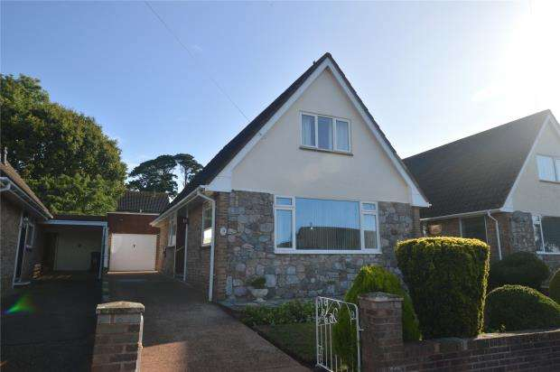 3 Bedrooms Detached Bungalow for sale in Carberry Avenue, Exmouth, Devon