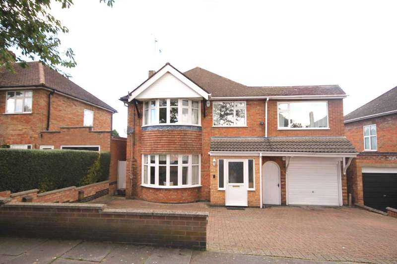 5 Bedrooms Detached House for sale in Valentine Road, Evington LE5 2GH