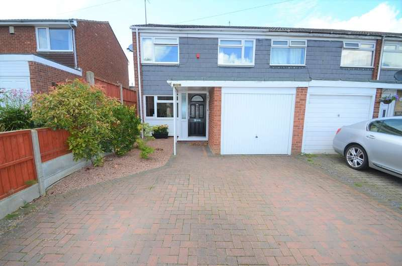3 Bedrooms End Of Terrace House for sale in Frobisher Road, Rugby, Warwickshire