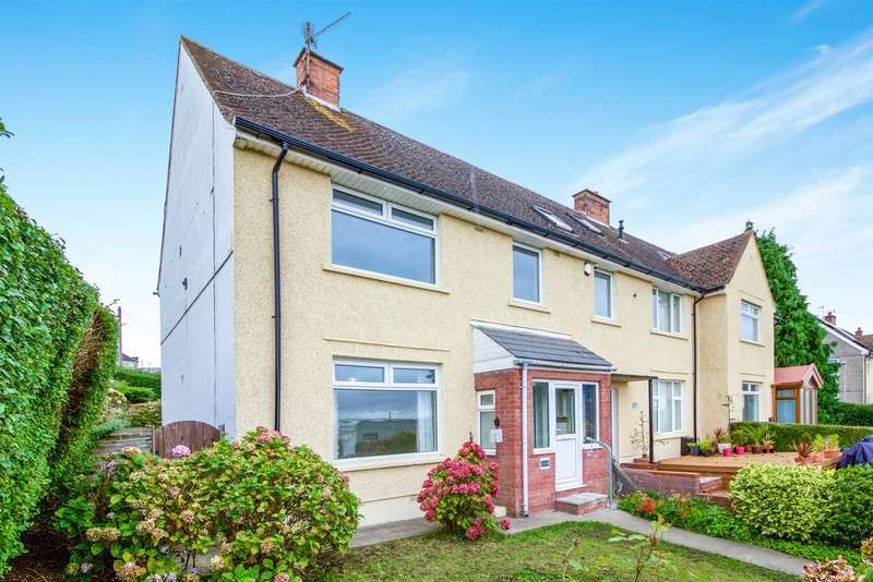 3 Bedrooms End Of Terrace House for sale in Dock View Road, Barry