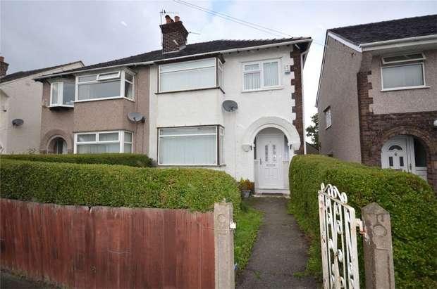 3 Bedrooms Semi Detached House for sale in Quarry Avenue, Bebington, Merseyside