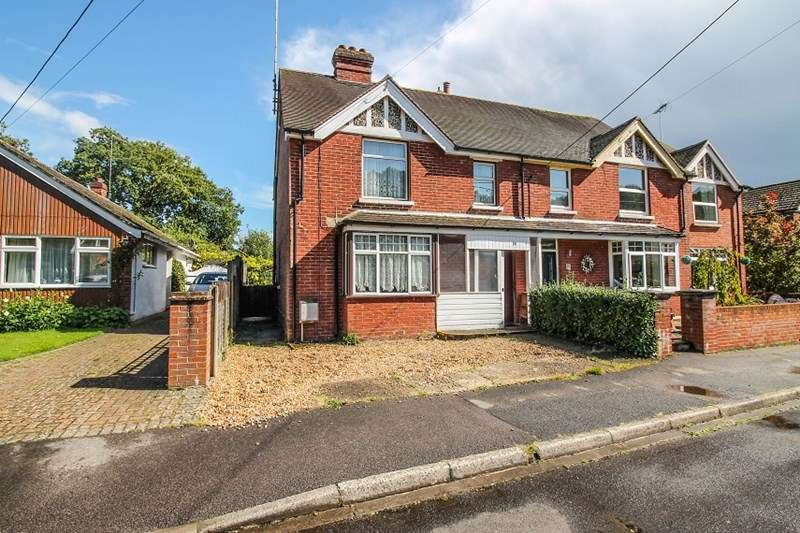 3 Bedrooms Semi Detached House for sale in Newfield Road, Liss