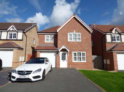3 Bedrooms Detached House for sale in Lon Lafant, Llandudno Junction, Conwy, Noth Wales, LL31