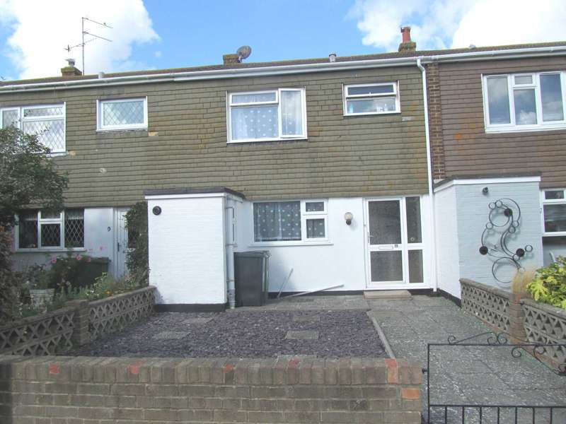 3 Bedrooms Terraced House for sale in Rodney Close, Eastbourne