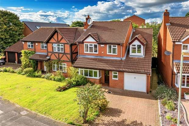 4 Bedrooms Detached House for sale in Sandy Croft, NEWPORT, Shropshire