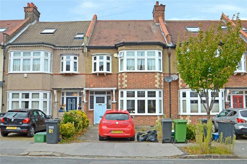 3 Bedrooms Terraced House for sale in Shirley Park Road, Croydon