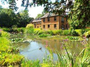 2 Bedrooms Retirement Property for sale in Delves House West, Delves Close, Lewes, East Sussex