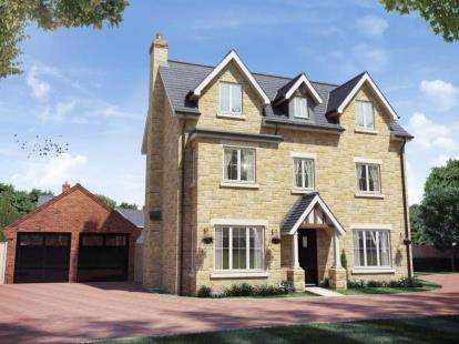 5 Bedrooms Detached House for sale in Buckton Fields, Northampton