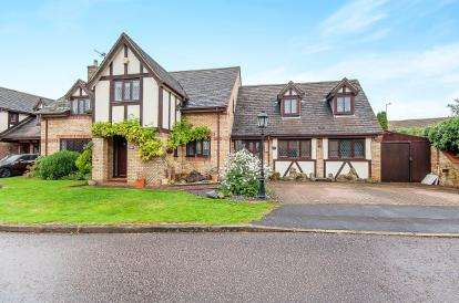 5 Bedrooms Detached House for sale in Sebrights Way, Bretton, Peterborough, Cambridgeshire