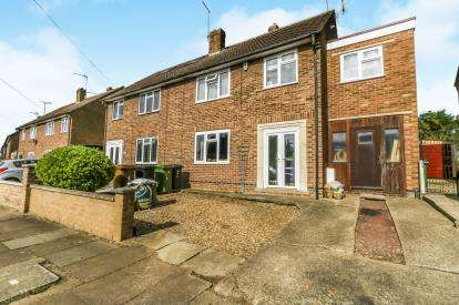 4 Bedrooms Semi Detached House for sale in Western Way, Wellingborough, Northamptonshire, England