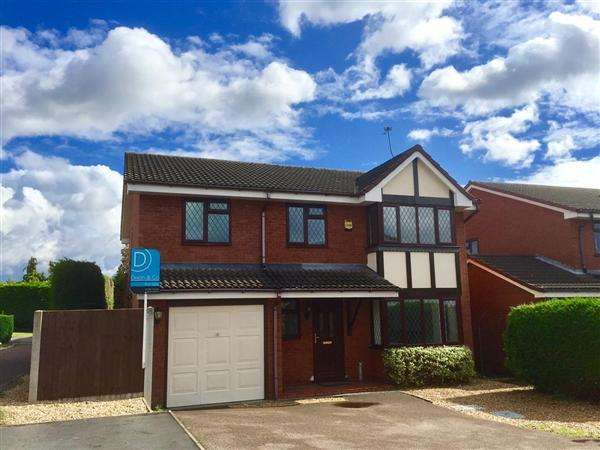 6 Bedrooms Detached House for sale in Beverley Close, Penkridge