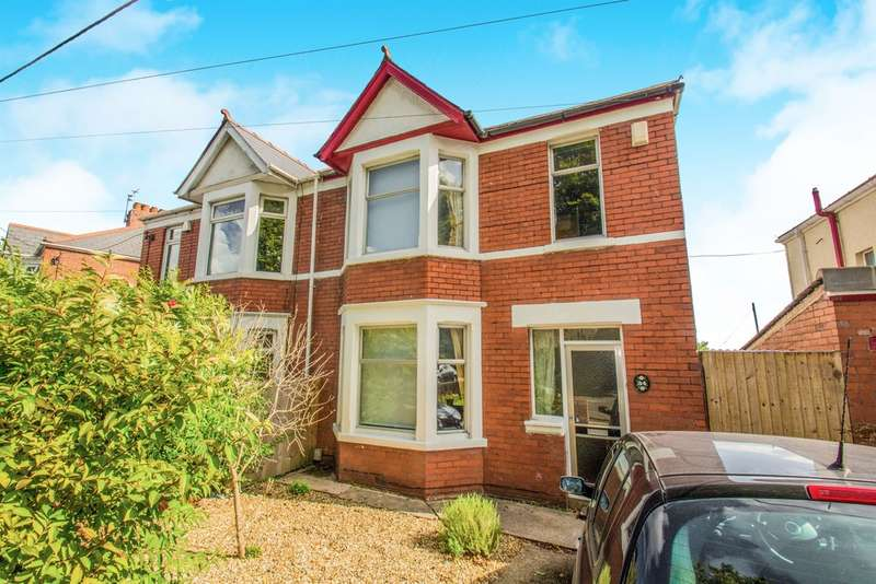 3 Bedrooms Semi Detached House for sale in Church Road, Rumney, Cardiff