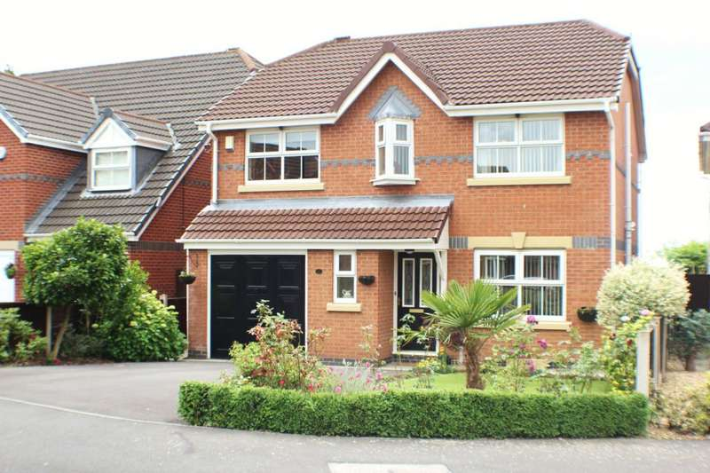 4 Bedrooms Detached House for sale in 11 Windflower Drive, Leyland, PR25 5RG