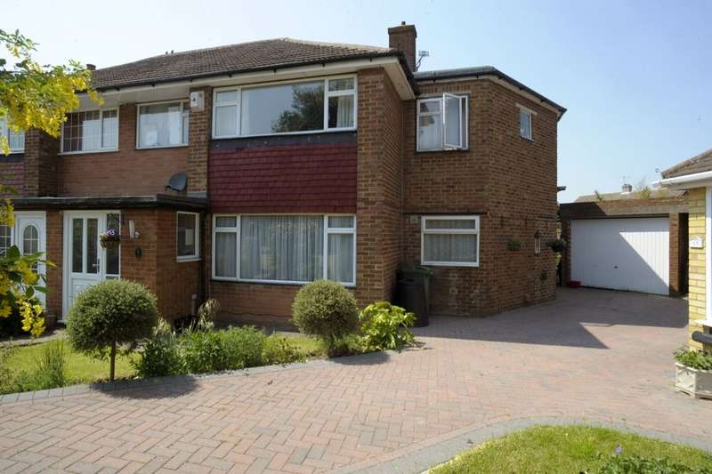 5 Bedrooms Semi Detached House for sale in Vanessa Walk, Gravesend, DA12