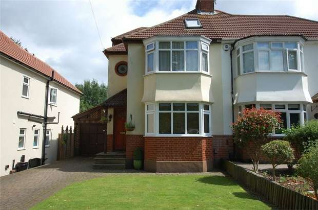 4 Bedrooms Semi Detached House for sale in Lime Tree Walk, WEST WICKHAM, Kent