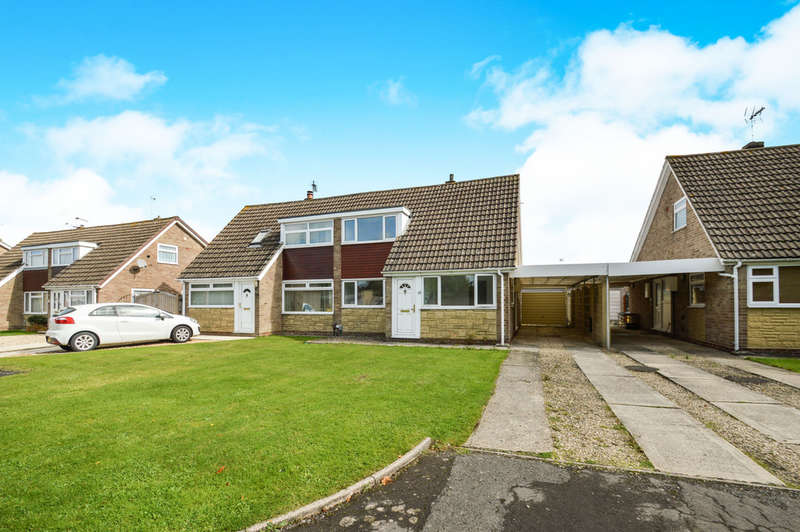 3 Bedrooms Semi Detached House for sale in Larksfield, Covingham