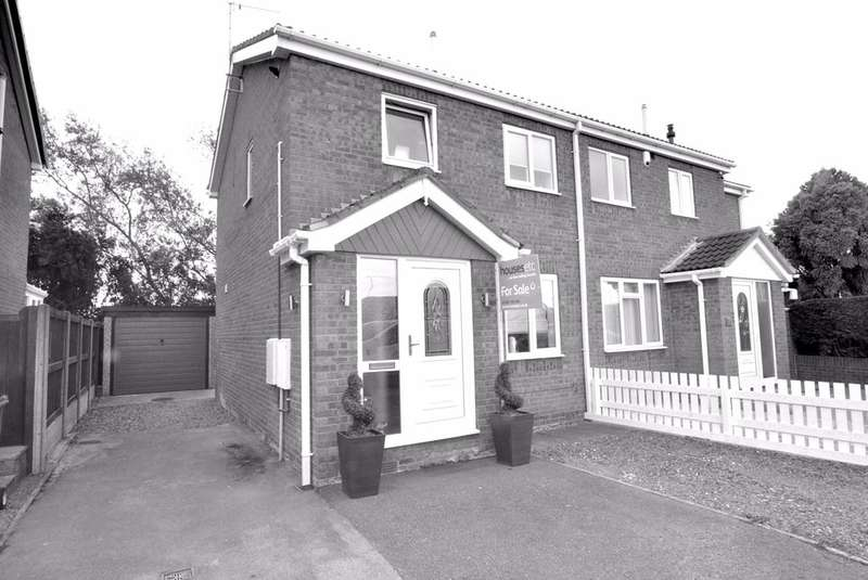 3 Bedrooms Semi Detached House for sale in Woburn Drive, Goole