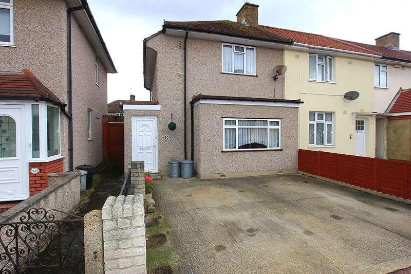 3 Bedrooms End Of Terrace House for sale in Bushgrove Road, Dagenham, London, RM8 3SJ