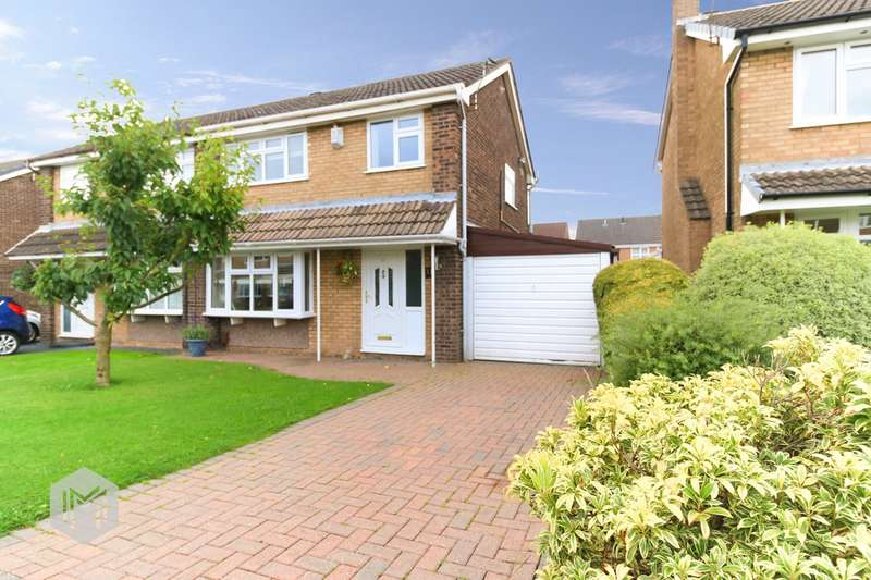3 Bedrooms Semi Detached House for sale in Megfield, Westhoughton, Bolton, BL5