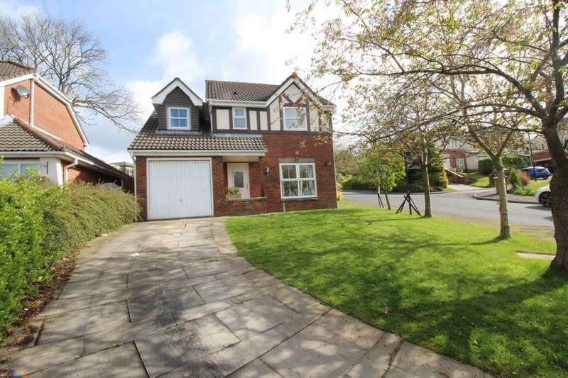 4 Bedrooms Detached House for sale in Foxglove Drive, Whittle-Le-Woods, Chorley, PR6