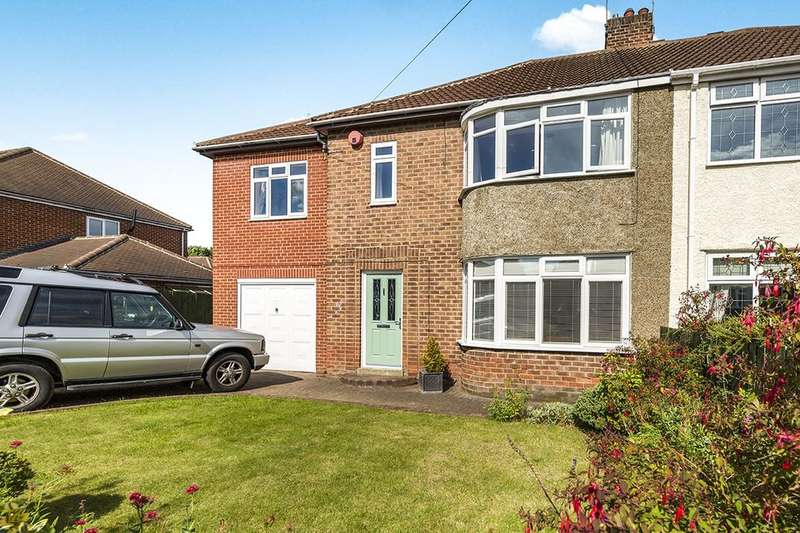 4 Bedrooms Semi Detached House for sale in Camperdown Avenue, Chester Le Street, DH3