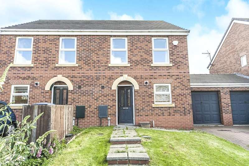3 Bedrooms Semi Detached House for sale in Horton Crescent, Bowburn, Durham, DH6