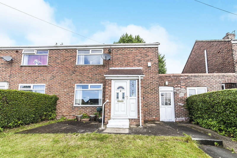 2 Bedrooms Semi Detached House for sale in Surtees Avenue, Bowburn, Durham, DH6