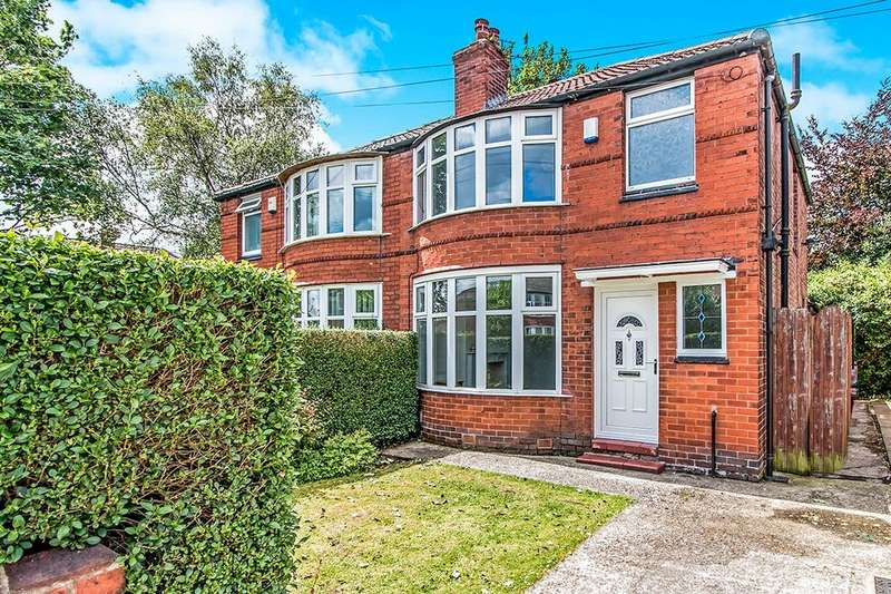 3 Bedrooms Semi Detached House for sale in Fairholme Road, Withington, Manchester, M20