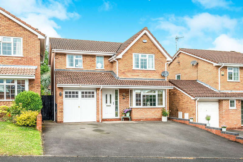 4 Bedrooms Detached House for sale in Badgers Croft, Eccleshall, Stafford, ST21
