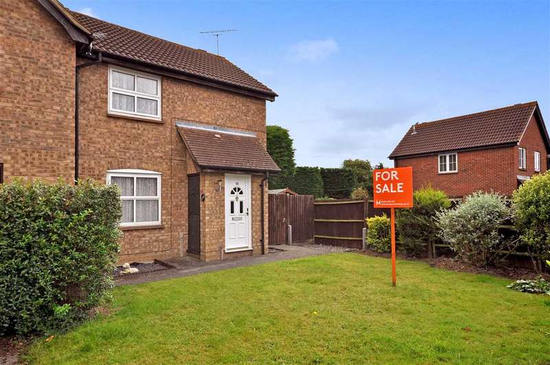2 Bedrooms Semi Detached House for sale in Mitton Vale, Chelmer Village