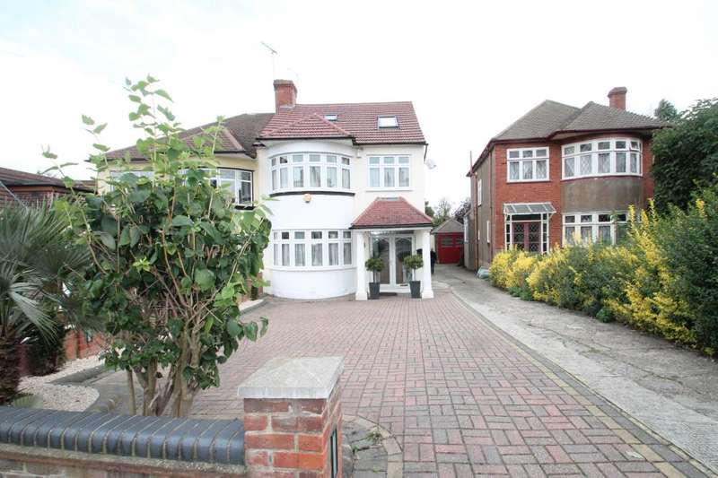 4 Bedrooms Semi Detached House for sale in STRADBROKE GROVE, CLAYHALL