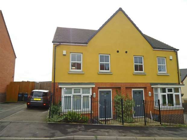 3 Bedrooms Semi Detached House for sale in Edinburgh Road, Nuneaton, Warwickshire