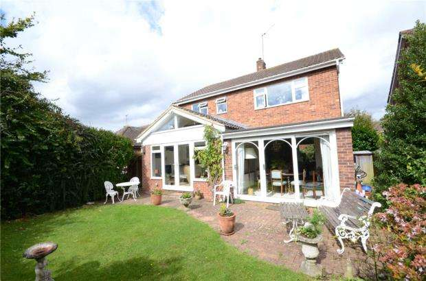 3 Bedrooms Detached House for sale in Webster Close, Maidenhead, Berkshire