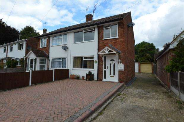 3 Bedrooms Semi Detached House for sale in Caxton Drive, Uxbridge