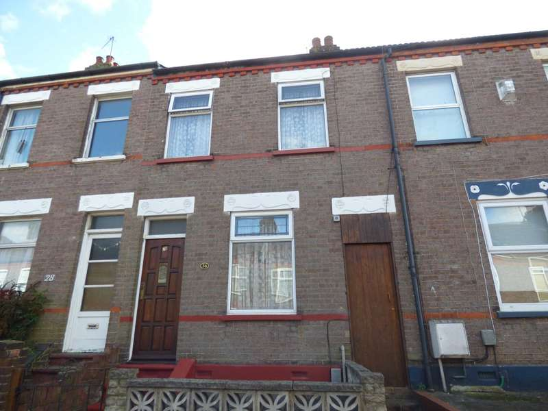 2 Bedrooms Terraced House for sale in St Pauls Road, Luton