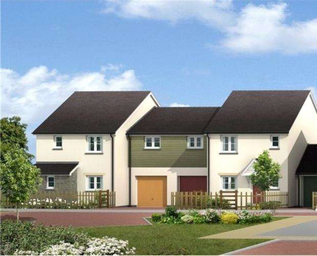 4 Bedrooms Semi Detached House for sale in The Market Garden, St Anns Chapel, Gunnislake, Cornwall