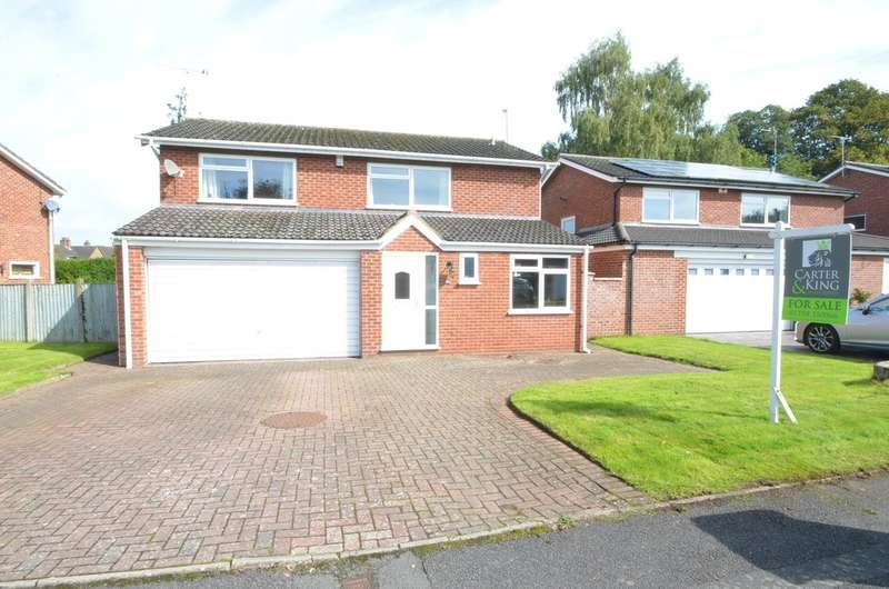 4 Bedrooms Detached House for sale in Waring Way, Dunchurch, Rugby