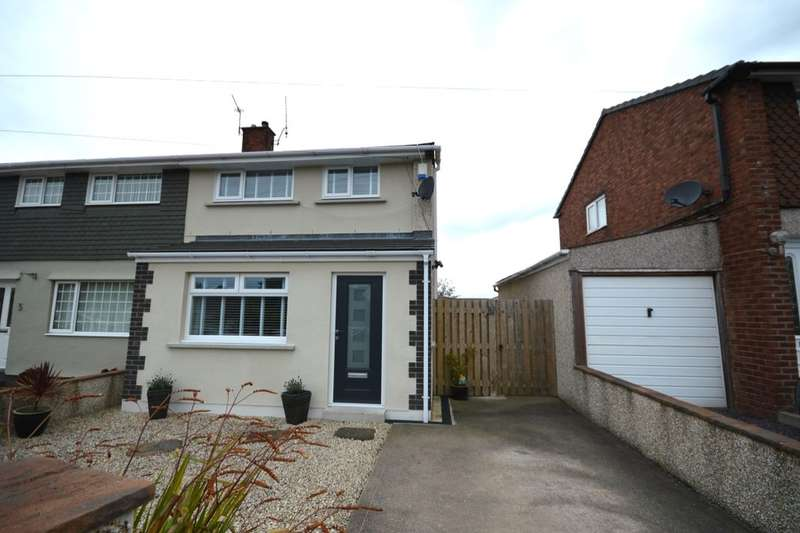 3 Bedrooms Semi Detached House for sale in Cedar Crescent, Maryport, CA15