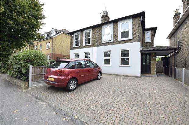 4 Bedrooms Semi Detached House for sale in Junction Road, ROMFORD, RM1 3QR